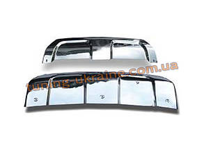 Накладки на бампер передняя и задняя на Range Rover Sport 2012+