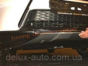 Накладка на бампер задняя Lexus RX 2012+