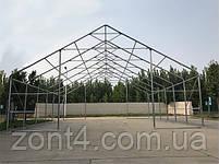 Шатер 8х12х3 метров ПВХ 720г/м2 с мощным каркасом под склад, гараж, палатка, ангар, намет, павильон садовый, фото 2