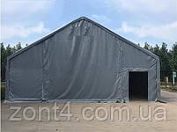 Шатер 8х12х3 метров ПВХ 720г/м2 с мощным каркасом под склад, гараж, палатка, ангар, намет, павильон садовый, фото 5