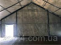 Шатер 8х12х3 метров ПВХ 720г/м2 с мощным каркасом под склад, гараж, палатка, ангар, намет, павильон садовый, фото 6