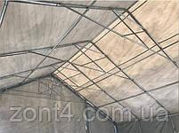 Шатер 8х12х3 метров ПВХ 720г/м2 с мощным каркасом под склад, гараж, палатка, ангар, намет, павильон садовый, фото 7