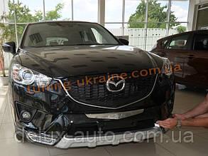 Накладка на бампер передняя Mazda CX5