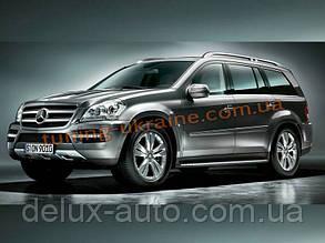 Накладка на бампер передняя Mercedes-Benz GL 2009-12