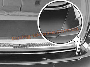 Накладка на задний бампер Original для Porsche Cayenne