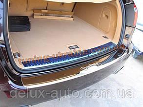 Накладка на задний бампер Sport для Porsche Cayenne