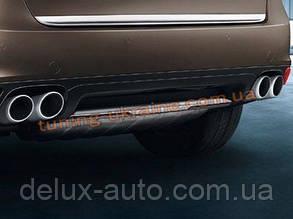 Накладки на бампер передняя и задняя Porsche Cayenne