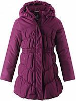 Зимнее пальто для девочки Lassie by Reima Rani 721750-4840. Размеры 104 - 140.