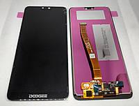 Дисплей +Сенсор (Модуль) Doogee Y7 / Doogee N10 Черный
