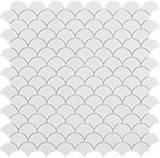 Мозаїка 31,5*31,5 Matt White 6106S
