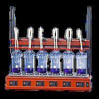 Апарат для гідролізу або визначення сирої клечатки Behr EXR 6