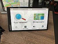 Автомобільний GPS навігатор Garmin DriveSmart 61 LMT-S
