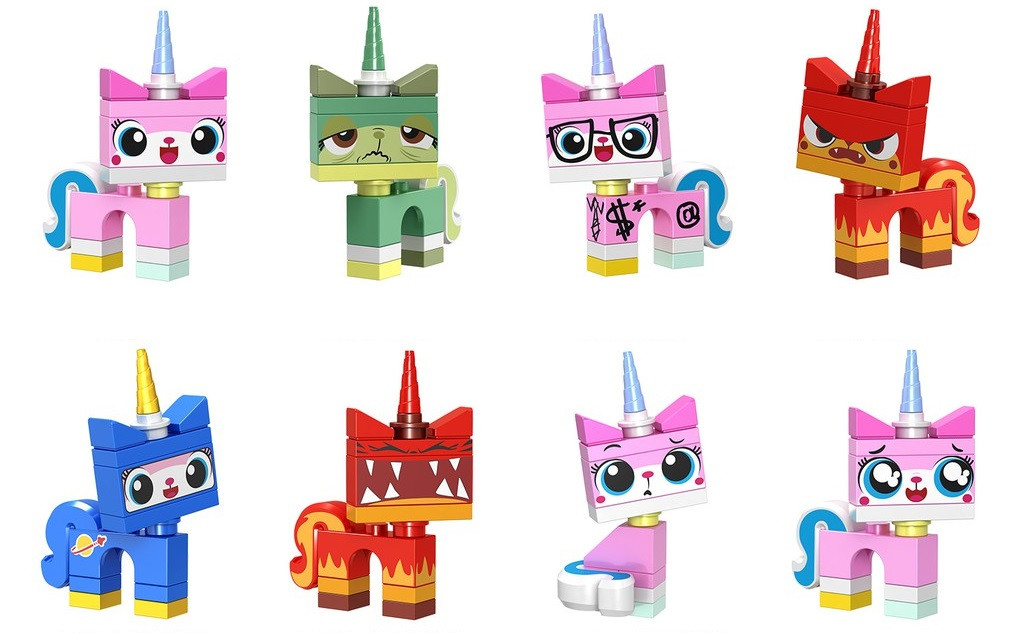 Фигурки лего Lego Лего фильм Lego Movie Юникитти Unikitty