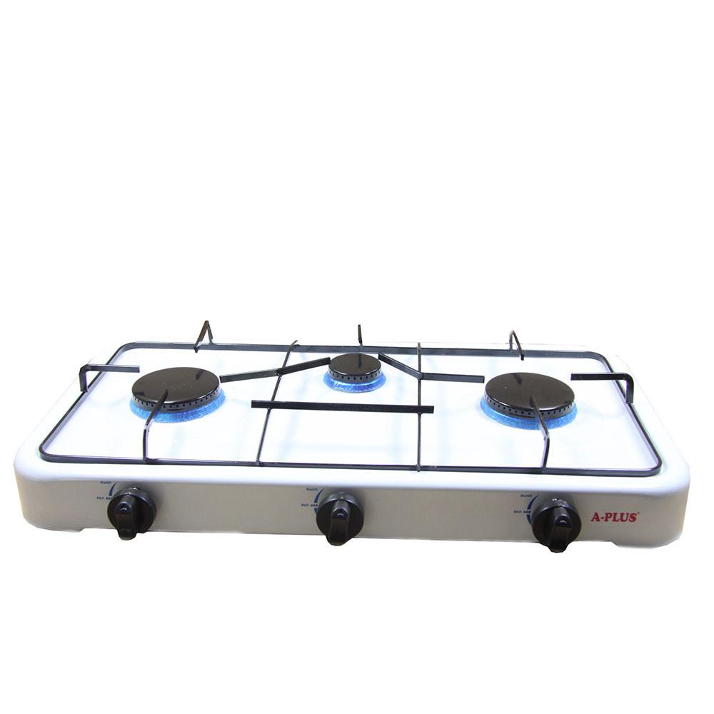 Газовая плита A-PlUS на три конфорки 2107 D1021