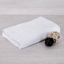 Рушник махровий AISHA (Узбекистан) 40*70 біле без бордюру