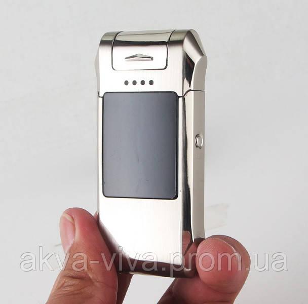 USB зажигалка электроимпульсная с игрой на экране