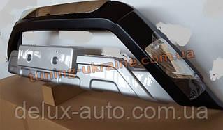 Накладки на бампер передняя и задняя SsangYong Actyon 2 2013+