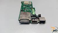 Додаткова плата, USB роз'єм, WLAN роз'єм, CARD RIDER, для ноутбука Asus UL80V, 69N0FXB11B03-01, б/в