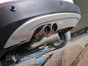 Накладка на бампер задняя VolksWagen Tiguan 2008+