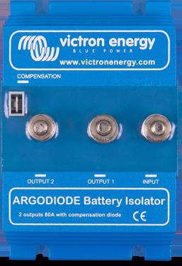 Батарейный изолятор  Argodiode 80-2AC 2 batteries 80A