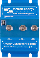 Батарейний ізолятор Argodiode 100-3AC 3 batteries 100A