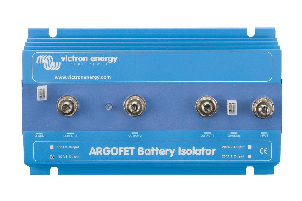 Батарейный изолятор  Argofet 100-3 Three batteries 100A
