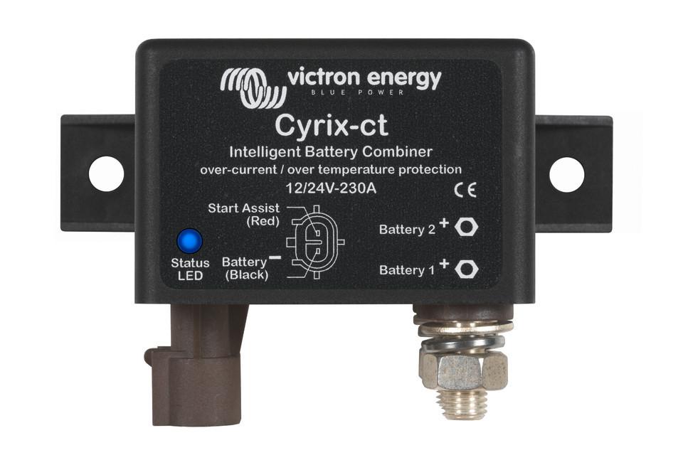 Батарейный сумматор Cyrix-ct 12/24V-230A intelligent combiner