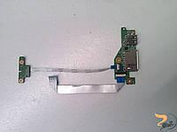 """Додаткова плата. Card Reader та USB порт для ноутбука Acer Chromebook C740-C1VL, 11.6"""", DA0ZHNTHAD0, Б/В"""