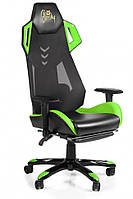 Геймерское кресло Barsky Game Mesh Green/Black BGM-07, фото 1