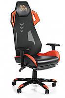 Компютерное кресло Barsky Game Mesh Orange/Black BGM-08, фото 1