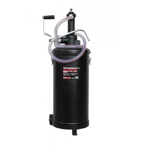 Нагнетатель масла ручной  с роторным насосом (производительность 8л/м)