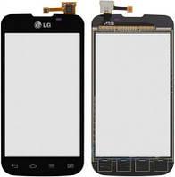 Сенсор LG E455 Optimus L5 Dual SIM черный