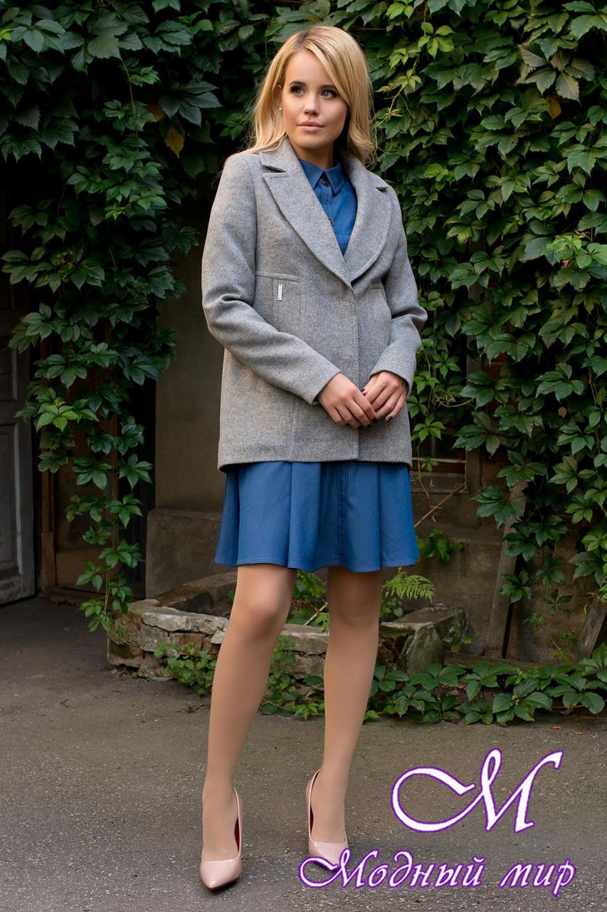 Женское кашемировое пальто демисезонное (р. S, M, L) арт. Белладжио 6382 - 42042