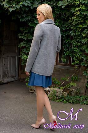 Женское кашемировое пальто демисезонное (р. S, M, L) арт. Белладжио 6382 - 42042, фото 2