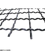 Канилированная сетка косая 60х105х6 мм