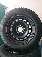 205/65/R15 BMW Комплект стальные диски + шины 4шт. Зима, фото 1