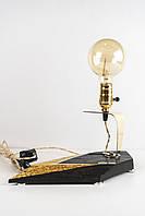 Декоративний світильник Pride&Joy з мореного дубу 01LBO2