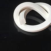 Силиконовый шнур пористый 6х6 мм