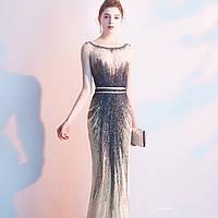 Платье ручной работы коллекция 2020. Вечірнє плаття рибка. Очень красивое вечернее платье расшито бисером