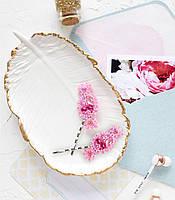 """Набор для вышивки бисером украшения для волос на натуральном художественном холсте """"Конфетка"""""""