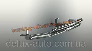Защита переднего бампера труба двойная D70-42 на Ford Ranger 2011+