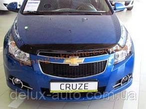 Дефлекторы капота для Chevrolet Cruze 2009