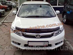 Дефлекторы капота Sim для Honda Civic Седан 2011-2015
