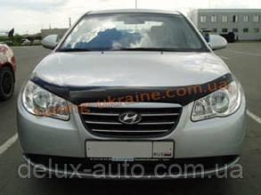 Дефлекторы капота Sim для Hyundai Elantra 2006-10