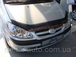 Дефлекторы капота Sim для Hyundai Getz 2002-12