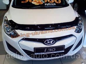 Дефлекторы капота Sim для Hyundai i30 2012-15