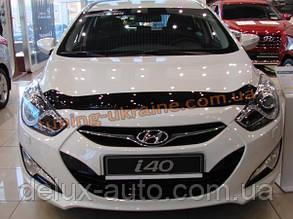 Дефлекторы капота Sim для Hyundai i40 2011-14