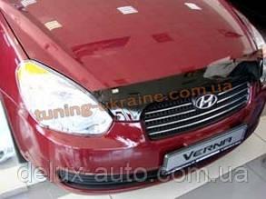 Дефлекторы капота Sim для Hyundai Verna 2006-10