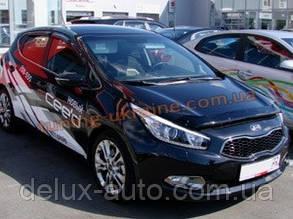 Дефлекторы капота Sim для Kia Ceed 2012-15