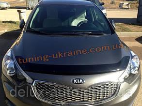 Дефлекторы капота Sim  для Kia Cerato седан 2013